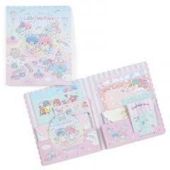 Japan Sanrio Volume Letter Set - Little Twin Stars