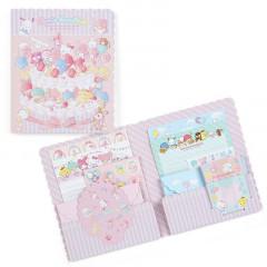 Japan Sanrio Volume Letter Set - Sanrio Family