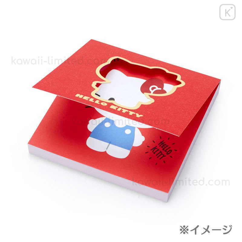 New Hello Kitty Stamp Wooden Square Japan Kawaii Manga Sanrio Anime Japanese Free Shipping F  S From Japan