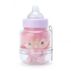 Japan Sanrio Ball Chain Plush with Baby Bottle - Little Twin Stars Lara