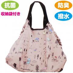 Japan Sanrio 2-way Large Eco Bag - Sanrio Family