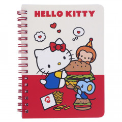 Sanrio A6 Twin Ring Notebook - Hello Kitty
