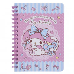 Sanrio A6 Twin Ring Notebook - My Melody