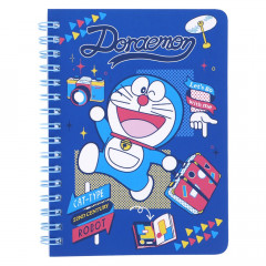 Doraemon A6 Twin Ring Notebook