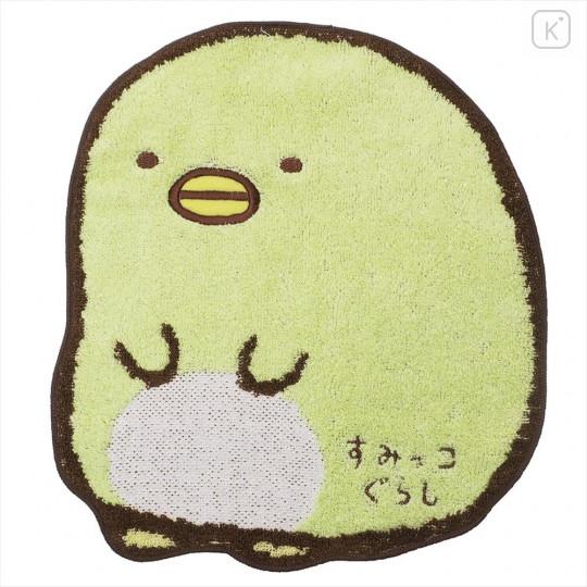 Japan San-X Die-cut Handkerchief Wash Towel - Sumikko Gurashi Penguins? - 1