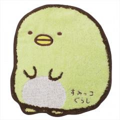 Japan San-X Die-cut Handkerchief Wash Towel - Sumikko Gurashi Penguins?