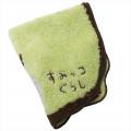 Japan San-X Die-cut Handkerchief Wash Towel - Sumikko Gurashi Penguins? - 2