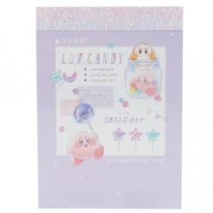 Japan Kirby B8 Mini Notepad - Pupupu Lollipop