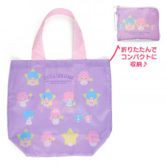 Japan Sanrio Eco Shopping Bag - Little Twin Stars