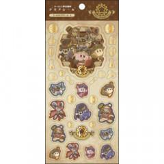 Japan Kirby Gold Sticker - Phantom Gear A