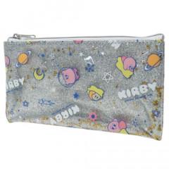 Japan Kirby Glitter Pen Pouch - Milky Way