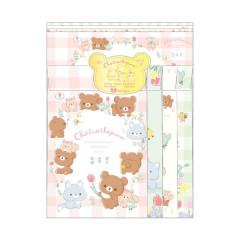 Japan Rilakkuma Letter Envelope Set - Chairoikoguma in Forrest