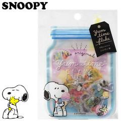 Japan Snoopy Masking Seal Flake Sticker - Dessert YUM TIME