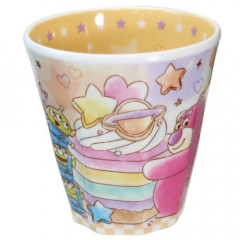 Japan Disney Melamine Cup - Toy Story Lotso & Little Green Men