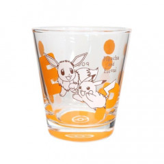 Japan Pokemon Glass Cup - Pikachu & Eevee