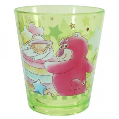 Japan Disney Acrylic Cup Clear Airy - Toy Story Lotso & Little Green Men