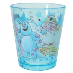 Japan Disney Acrylic Cup Clear Airy - Monster Company Mike & Sulley