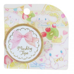 Japan Sanrio Washi Paper Masking Tape - Cinnamoroll Yellow