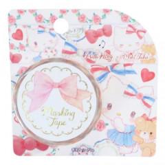 Japan Sanrio Washi Paper Masking Tape - Hello Kitty in Paris