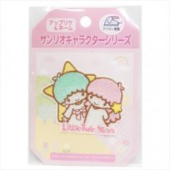 Japan Sanrio Iron-on Applique Patch - Little Twin Stars