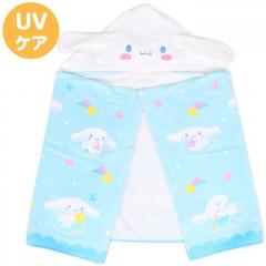 Japan Sanrio Hooded Towel - Cinnamoroll / Star