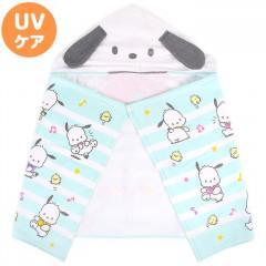 Japan Sanrio Hooded Towel - Pochacco / Music