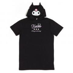 Japan Sanrio Hooded One-Piece Dress - Kuromi