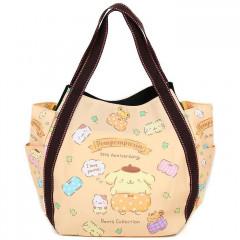 Japan Sanrio Tote Bag (L) - Pompompurin / 25th Anniversary Yellow