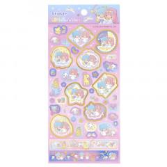 Sanrio Hot Stamp Sticker - Little Twin Stars