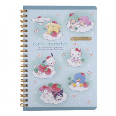 Sanrio B6 Twin Ring Notebook - Sanrio Family