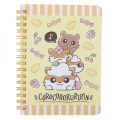 Sanrio A6 Twin Ring Notebook - Corocorokuririn