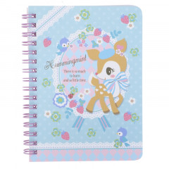 Sanrio A6 Twin Ring Notebook - Hummingmint