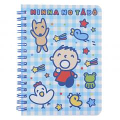Sanrio A6 Twin Ring Notebook - Minna No Tabo