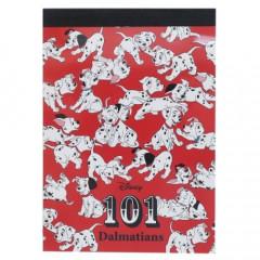 Japan Disney B8 Mini Notepad - 101 Doggy Dilemmas