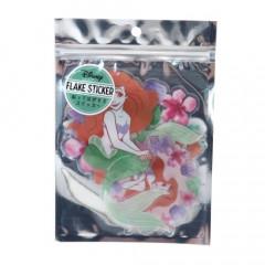 Japan Disney Big Flake Sticker - Ariel