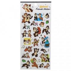 Japan Disney Upbeat Friends Stickers - Chip & Dale