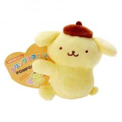 Japan Sanrio Mascot Clip - Pompompurin