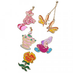 Japan Disney Earrings Set - Alice 70th anniversary