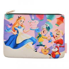Japan Disney Flat Pouch - Alice 70th anniversary