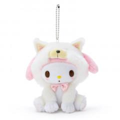 Japan Sanrio Shiba Inu Keychain Plush - My Melody