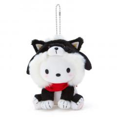 Japan Sanrio Shiba Inu Keychain Plush - Pochacco