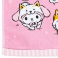 Japan Sanrio Handkerchief Petit Towel - Shiba Inu Cosplay - 3