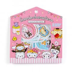Japan Sanrio Sticker Pack - Shiba Inu Cosplay