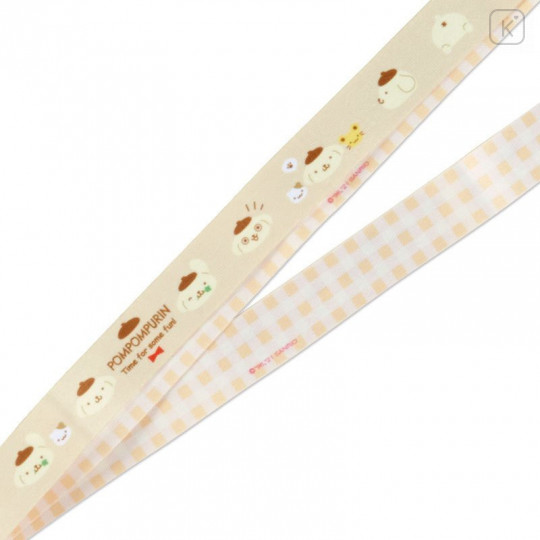 Japan Sanrio Neck Strap - Pompompurin - 3