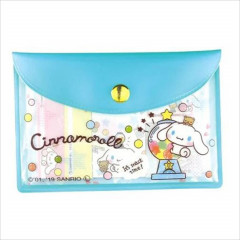 Japan Sanrio Sticky Notes with Case - Cinnamoroll