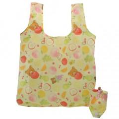 Japan San-X Eco Shopping Bag - Rilakkuma / Fruits
