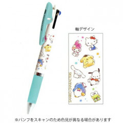Japan Sanrio Jetstream 3 Color Multi Ball Pen - Sanrio Family