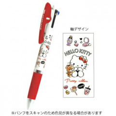 Japan Sanrio Jetstream 3 Color Multi Ball Pen - Hello Kitty