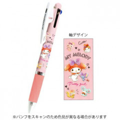 Japan Sanrio Jetstream 3 Color Multi Ball Pen - My Melody