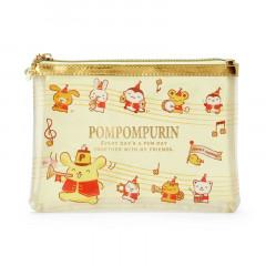 Japan Sanrio Flat Pouch - Pompompurin / 25th Anniversary